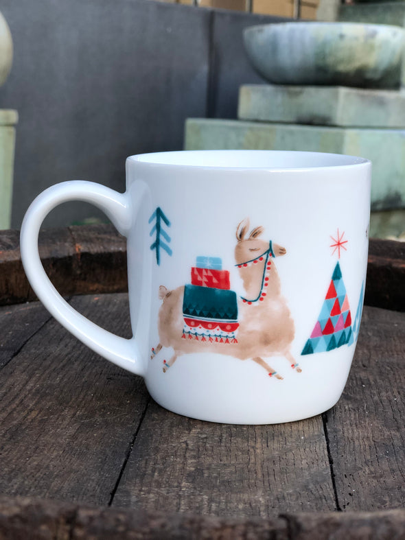 Happy Llama Days Mug