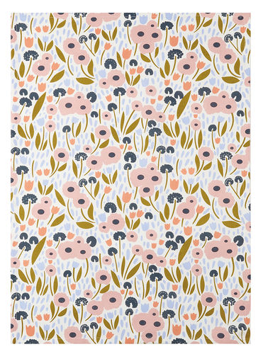 teatowel, floral recollections