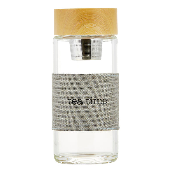 bottle, tea infuser TEA TIME
