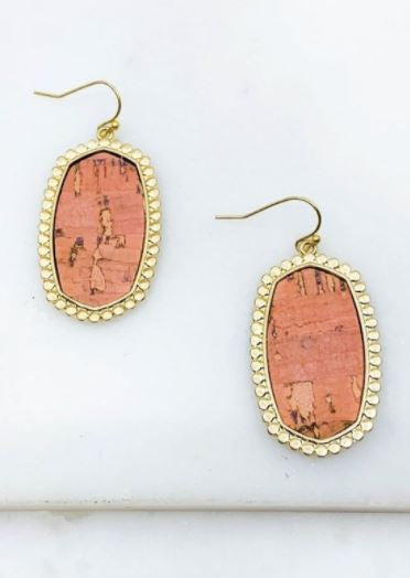 Durham Cork Earrings