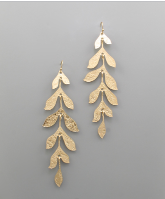 Landover Leaf Earrings