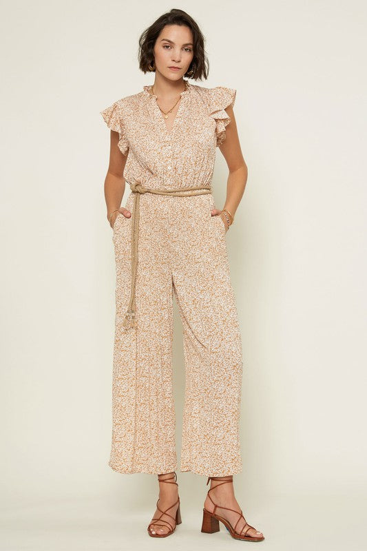 Eden Rope Belt Jumpsuit