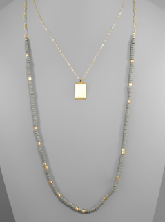 Kent Double Layer Necklace