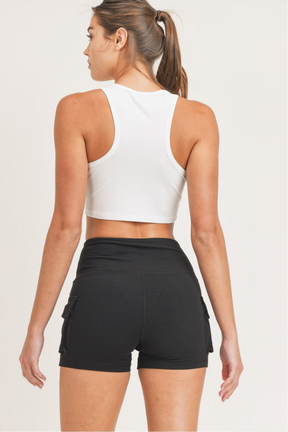 Molly Cropped Racer Tank