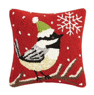 Chickadee Hook Pillow