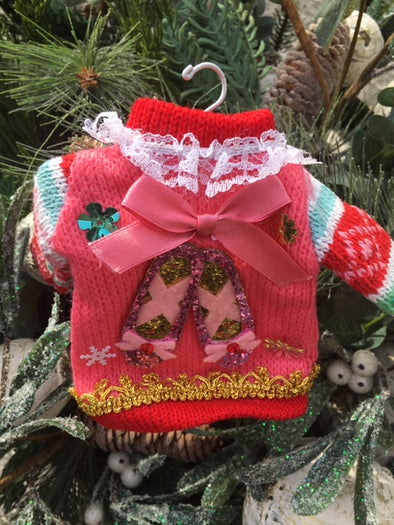 Nutcracker Suite Sweater Ornaments