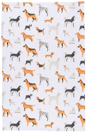 Dog Days Teatowel