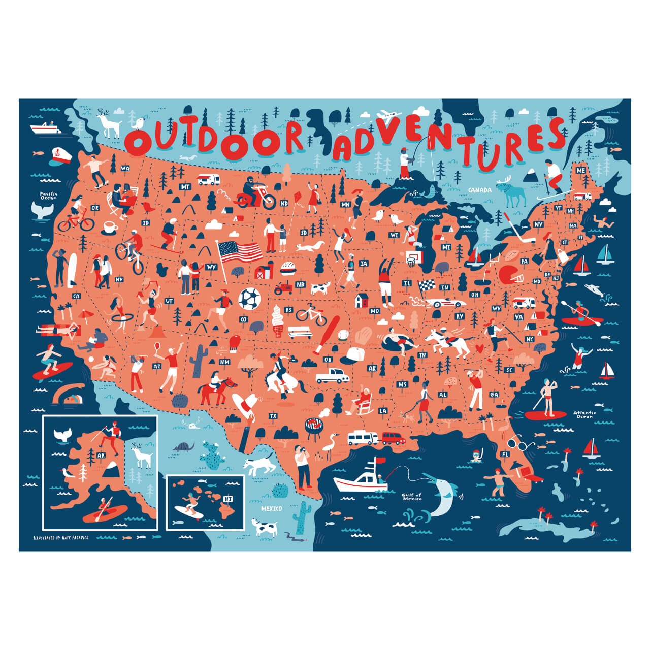 Outdoor Adventures Puzzle