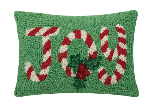 Festive Joy Hook Pillow