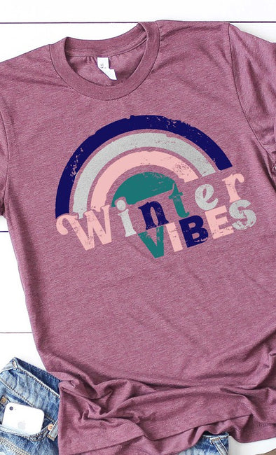 Retro Rainbow Graphic Tee