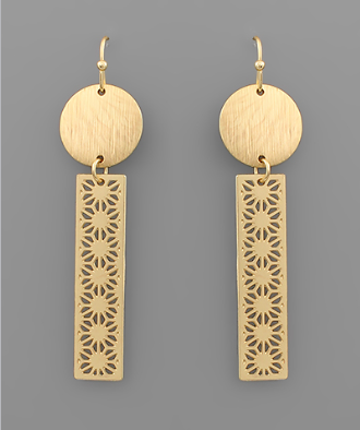 Barton Geo Dangle Earrings