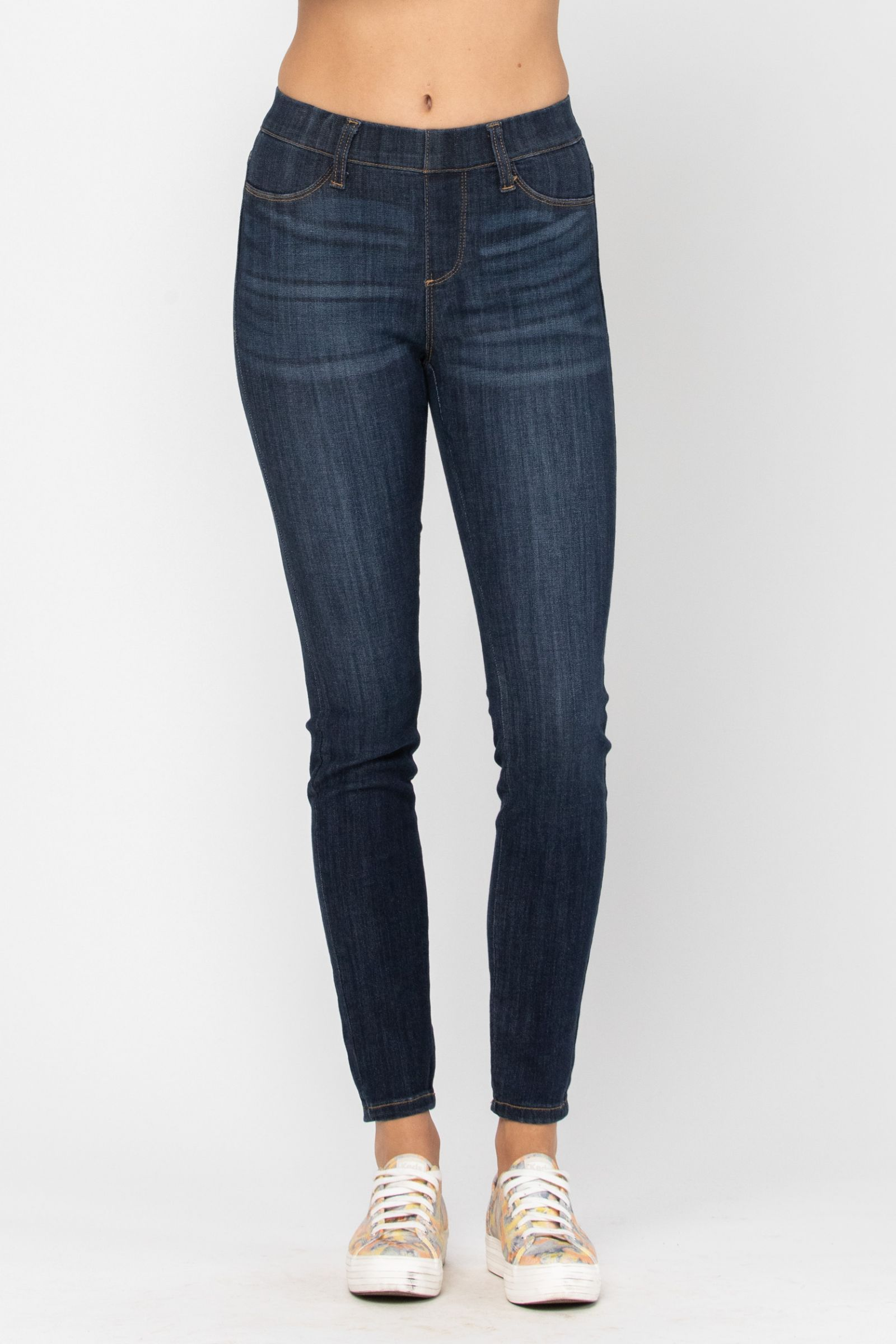 Amber Skinny Pull-On Jeggings