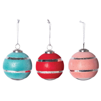 Mercury Glass Ball Ornament