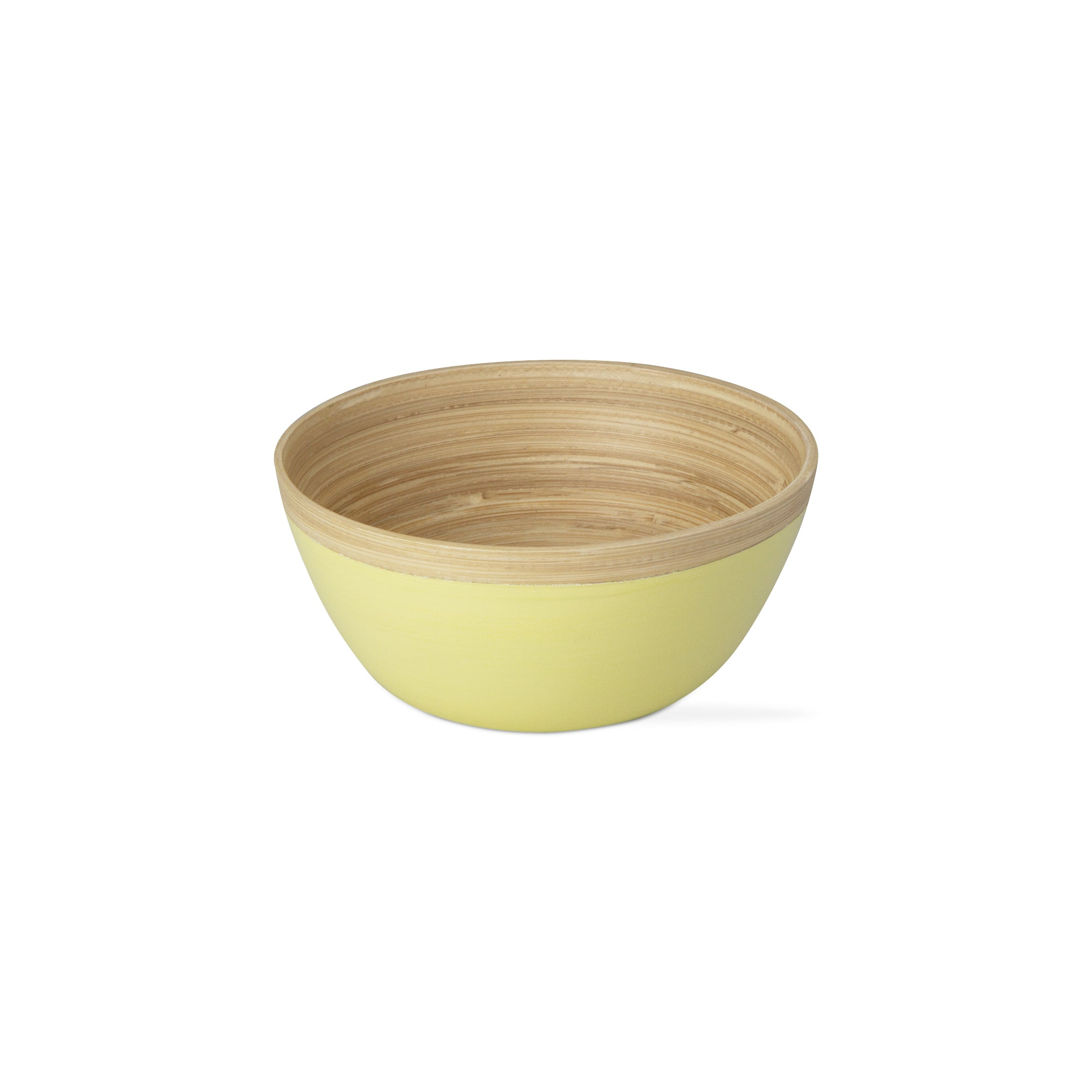 Green Bamboo Lacquer Serving Bowl
