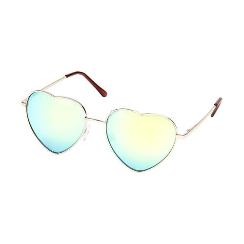 Heart Eyes Rainbow Sunnies