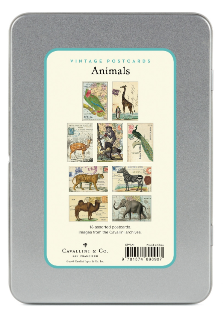 Vintage Animals Postcards