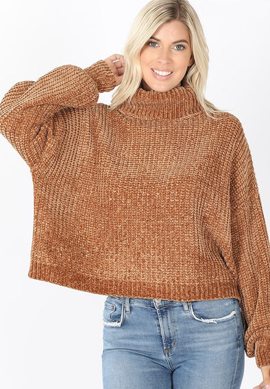 Berkeley Balloon Sleeve Sweater