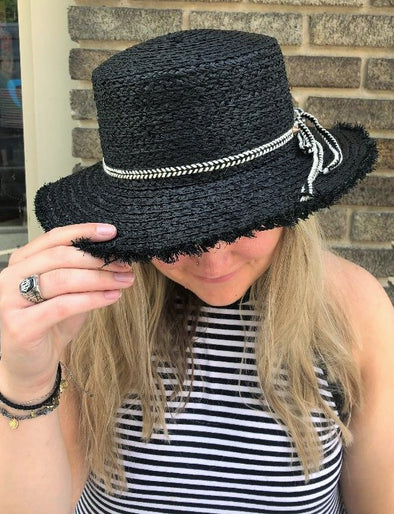 Panama Ribbon Hat