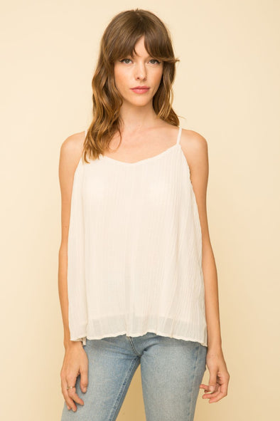 Piece of Cake Pleated Cami