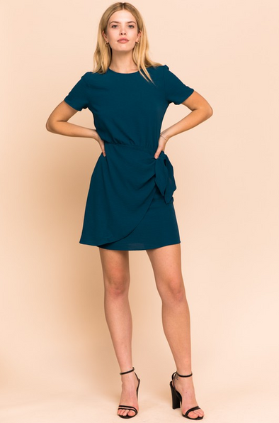 SALE Side Tie Dress