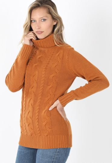 Breckenridge Braided Front Sweater