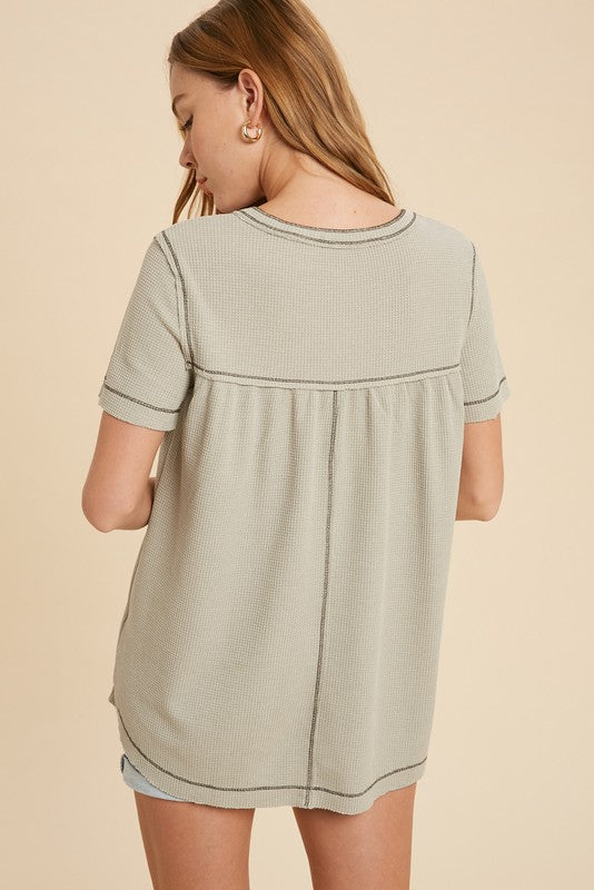 Rebecca Henley Thermal Top