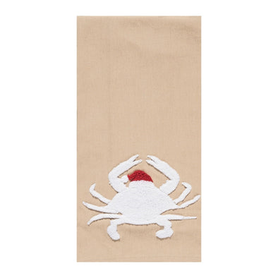 Santa Crab Tea Towel