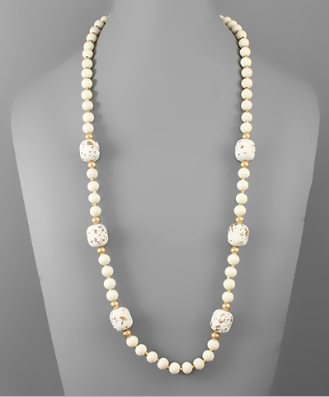 Havre de Grace Beaded Necklace