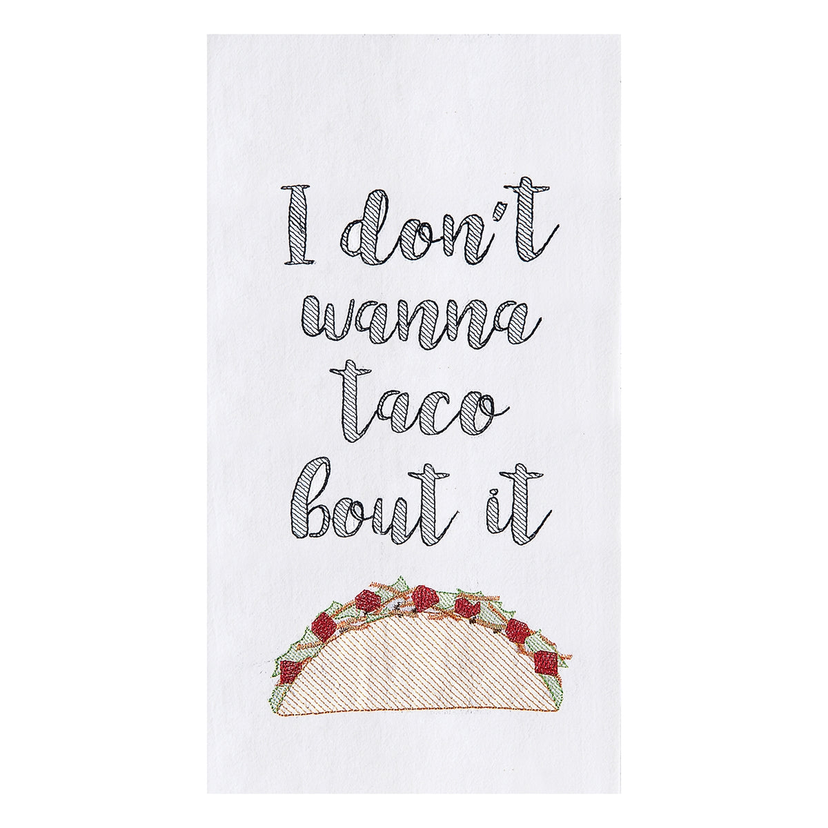 Taco Bout It Teatowel