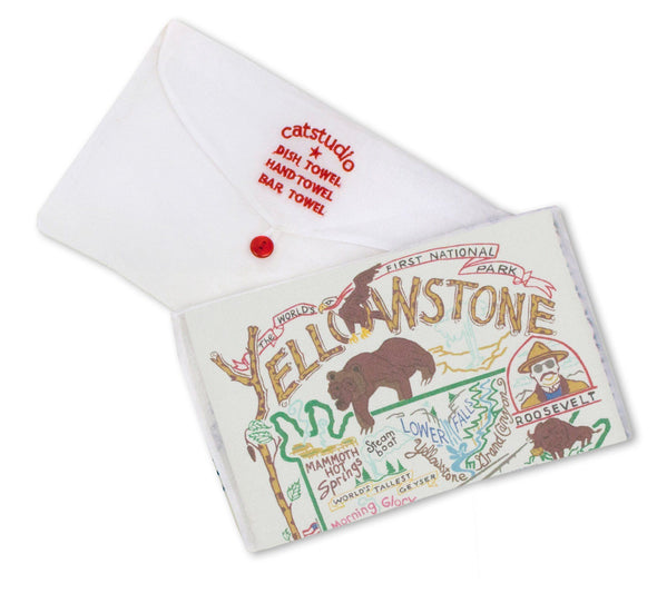 Yellowstone Teatowel