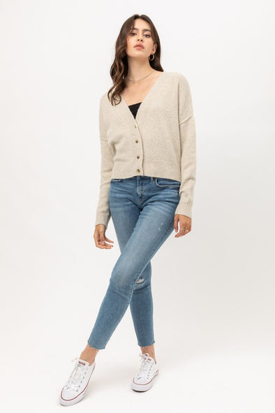 Beatrice Cropped Cardigan