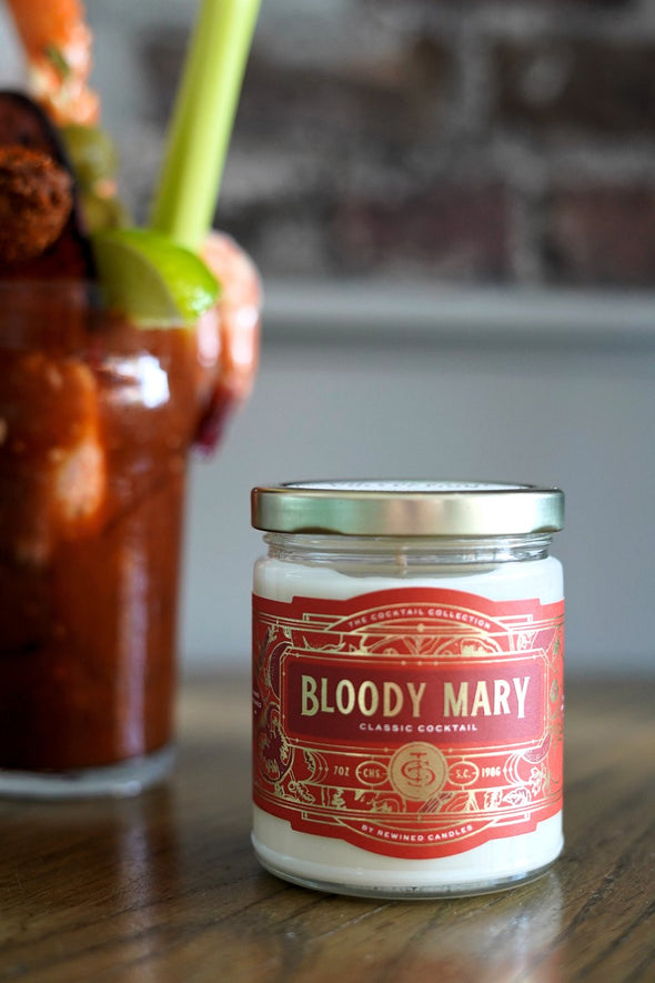 Bloody Mary Candle