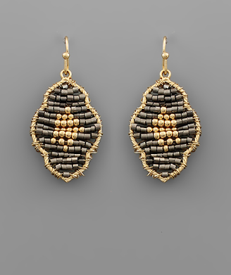 Loch Lynn Beaded Earrings