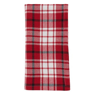 Red Plaid Napkins