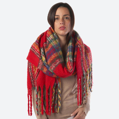 Broxburn Oblong Plaid Scarf