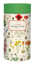 Load image into Gallery viewer, puzzle, vintage wildflowers