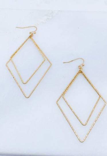 Decatur Hammered Earrings
