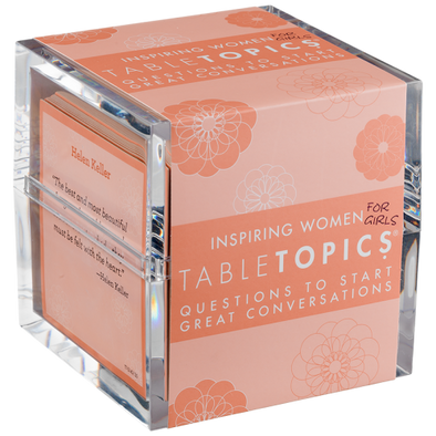 Inspiring Women (for girls) TableTopics