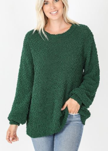 Courtie Popcorn Sweater