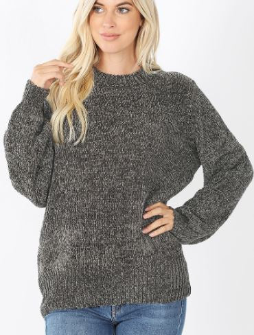 Shelliann Chenille Sweater