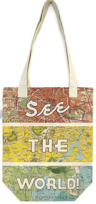 See the World! Tote