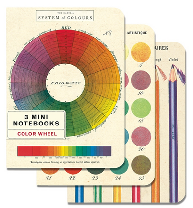 Color Wheel Mini Notebooks