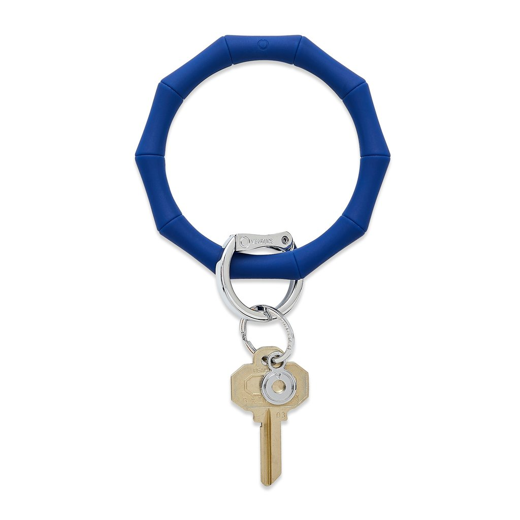 Bamboo Big O Key Ring