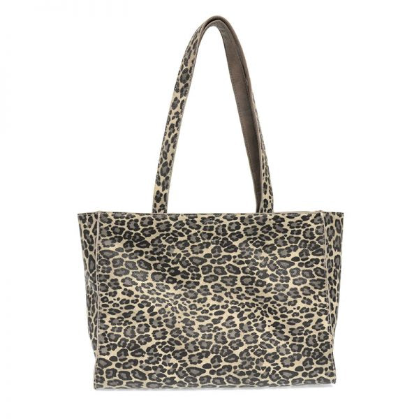 Reversible Leopard/Grey Tote