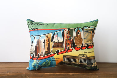 Maryland Postcard Pillow