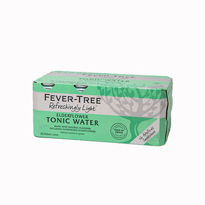 Fever Tree Elderflower Tonic 8 Cans