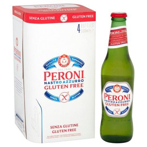 Peroni Gluten Free 4 Pack Bottle