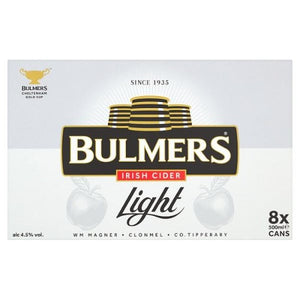 Bulmers Light 8 Pack can