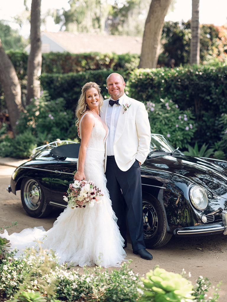 Old Hollywood Inspired Wedding | Montecito