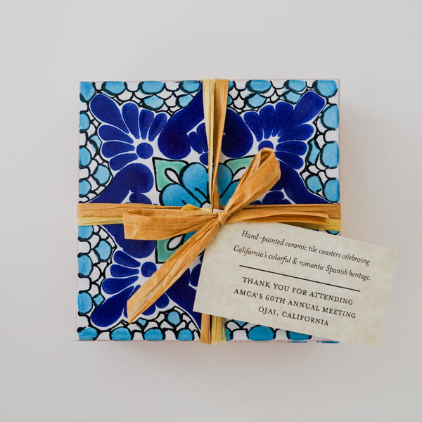 Ceramic Tile Coasters with Event Customization